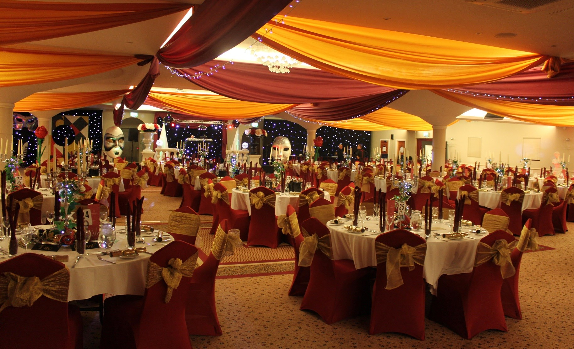 Cirque De Noel Themed Shared Christmas Parties 2018 The Auction